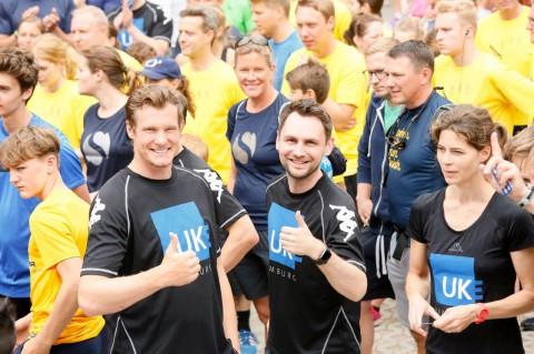 Über 400 Läufer beim Benefizlauf