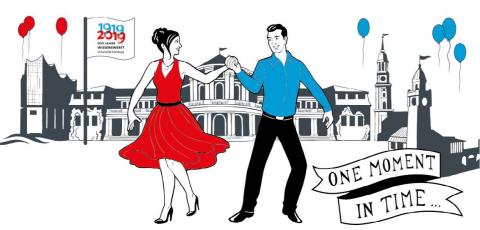 Die Uni feiert und tanzt in ihren 100. Geburtstag