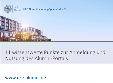 Alumni-Portal – so funktioniert es!