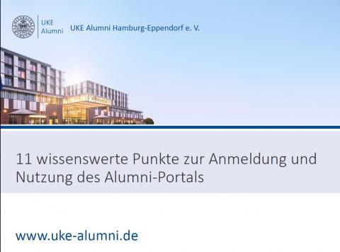 Alumni-Portal: Neue Funktionen